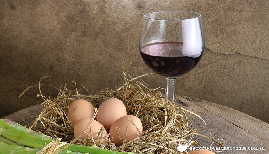 combining wine and eggs can add some real spice to your favourite dish