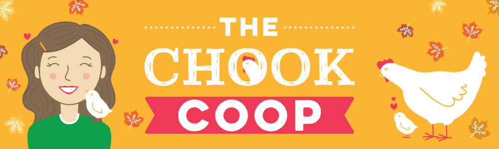 the chook coop blog autumn banner