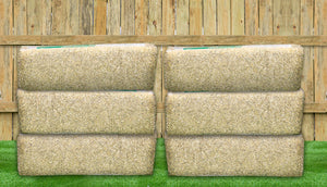 6 hemp bedding bales for chickens