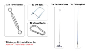 Chicken Coop Anchor Kits