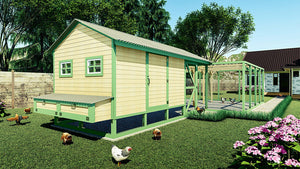 15 Easy DIY Chicken Coop Plans