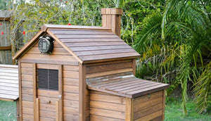 taj mahal chicken coops with automatic door opener