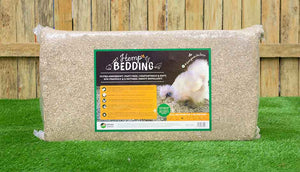 bale of chicken hemp coop bedding
