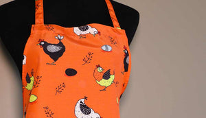 Ladies Chicken Apron - Limited Edition Print