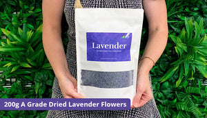 200 grams a grade dried lavender for chickens