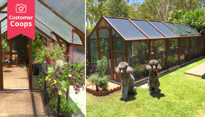 glorious garden house with insulated roofing