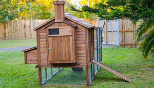 rabbit den back view hutch door closed