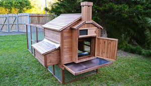 rabbit den back view hutch door open