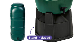 100 litre rain water tank stand included
