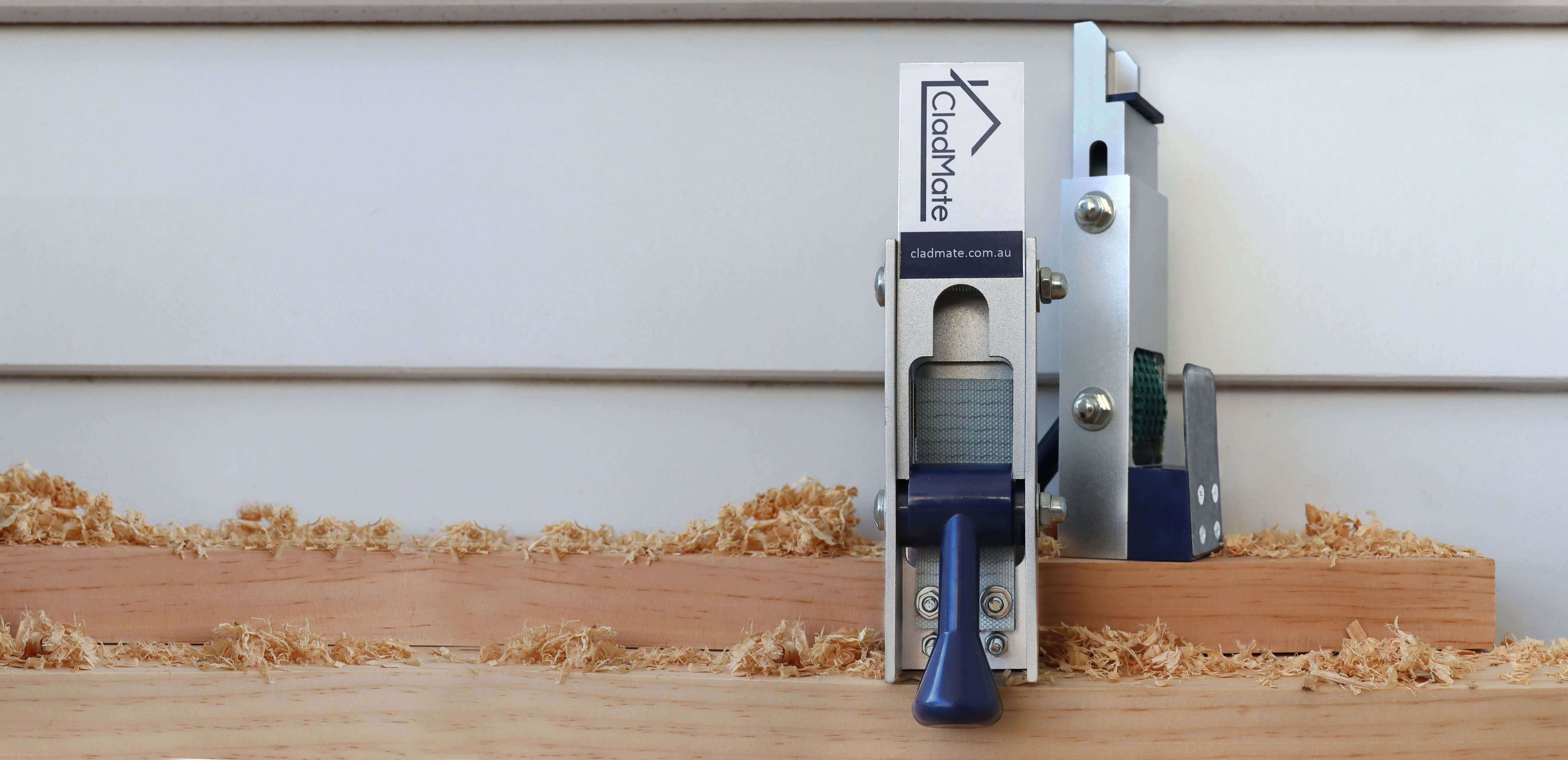 CladMate Weatherboard Clamps Install WeatherBoards Twice as Fast
