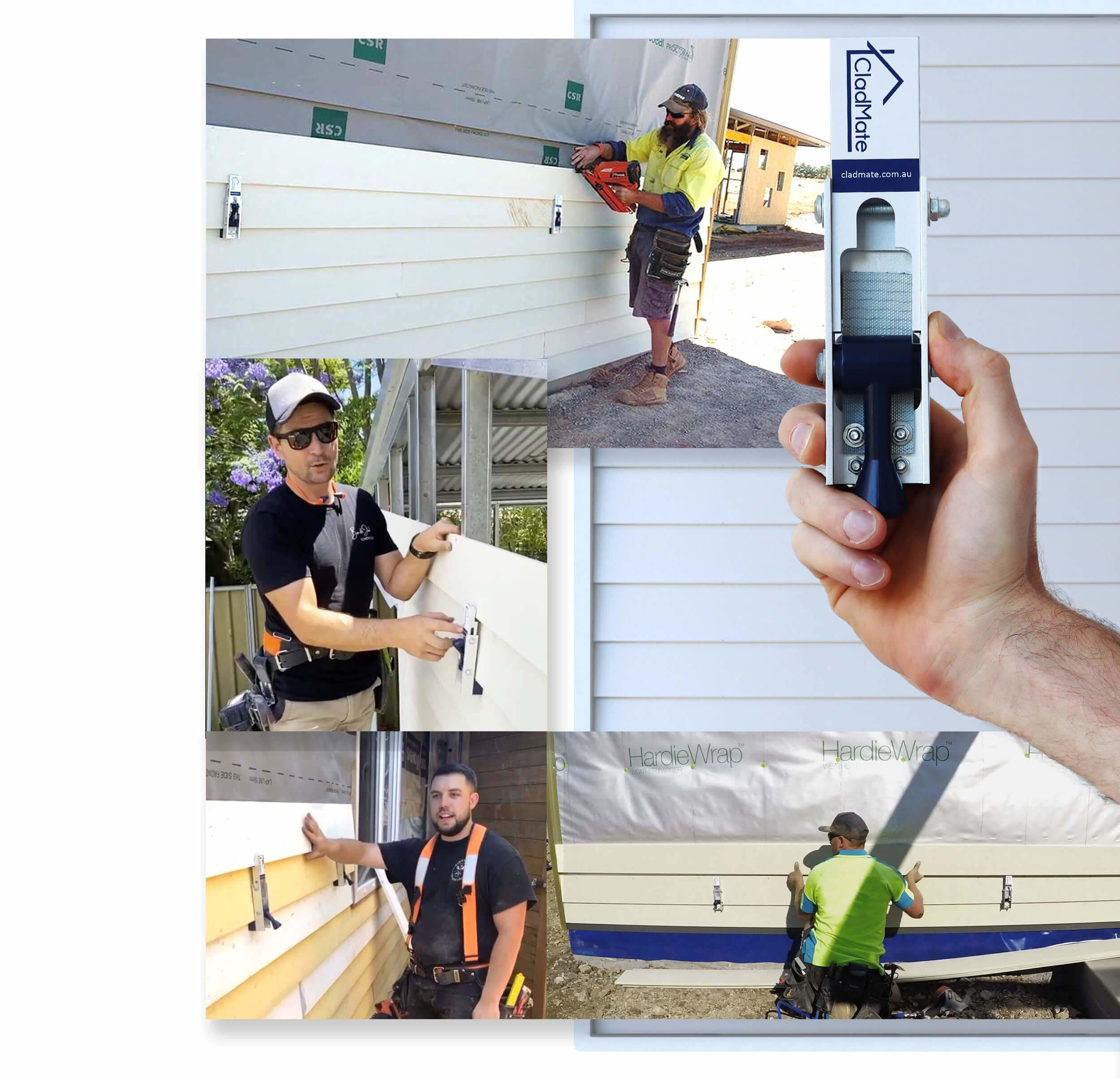 CladMate Gallery of Carpenters Using CladMate on Weatherboards