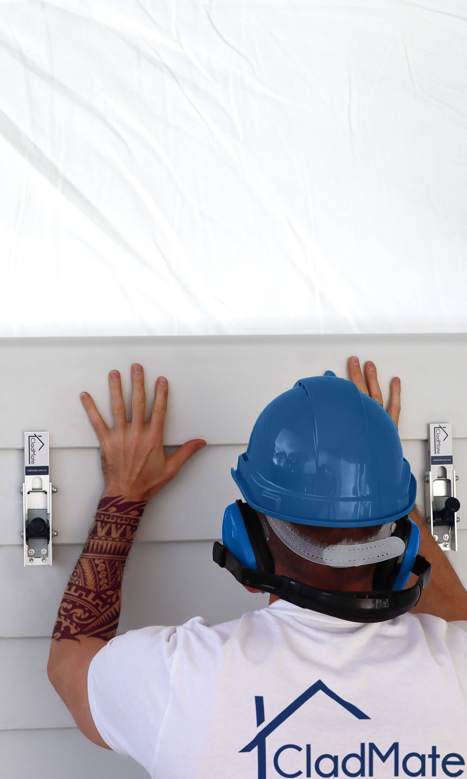 CladMate WeatherBoard Clamp