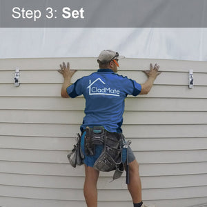 Install Weatherboards With CladMate