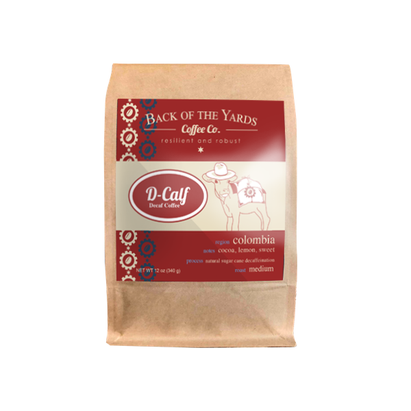 D-Calf Decaf Colombian Coffee