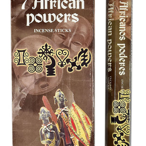 7 African Powers Incense Sticks Hexa