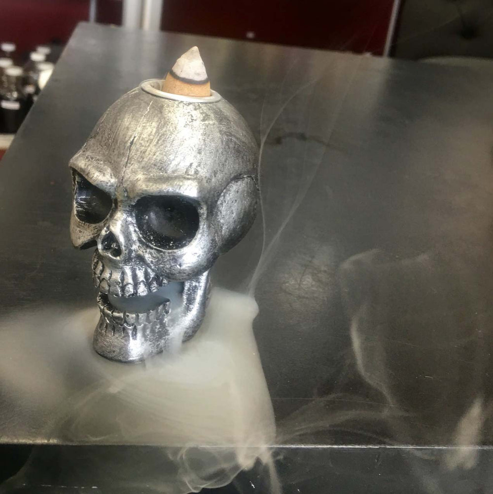 Buy Backflow incense burner skull cheap Price