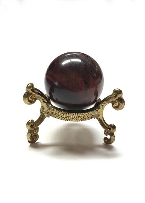 Crystal Ball- Red Tigers Eye