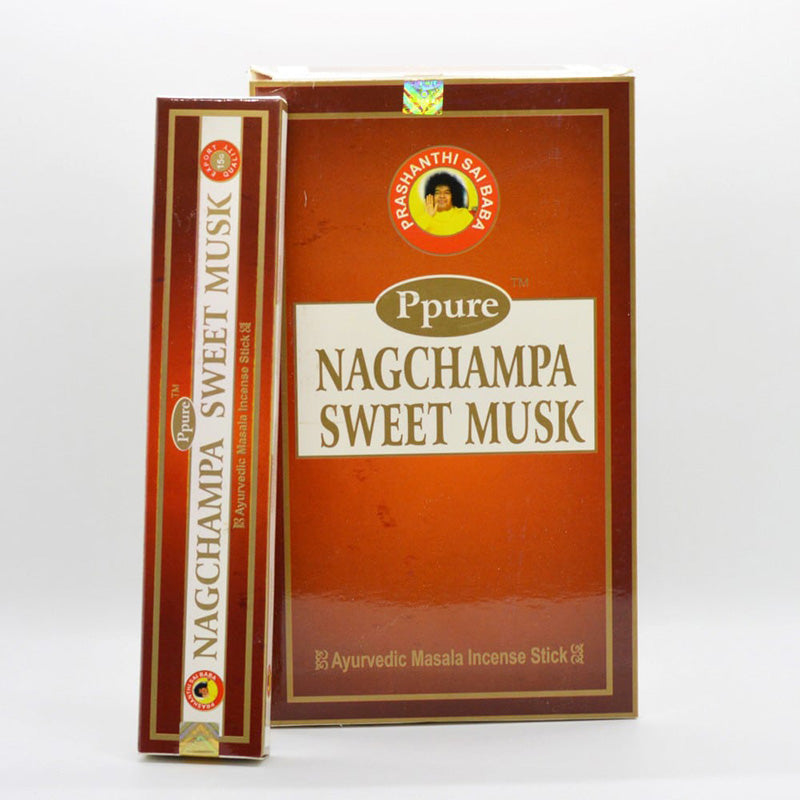 Ppure Nag Champa Sweet musk Incense Sticks