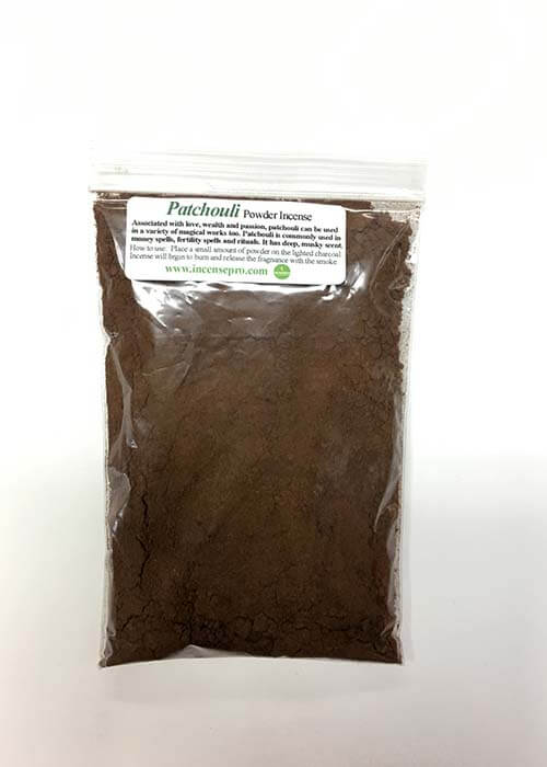 Buy Patchouli Powder Incense Online