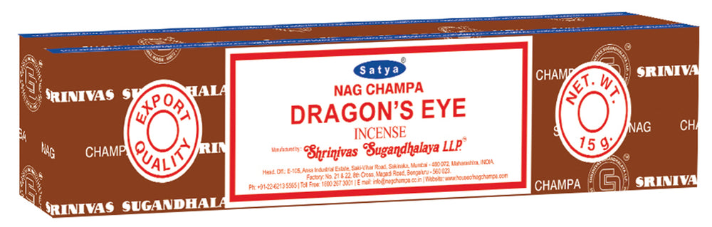 Satya Dragon's Eye Incense Sticks