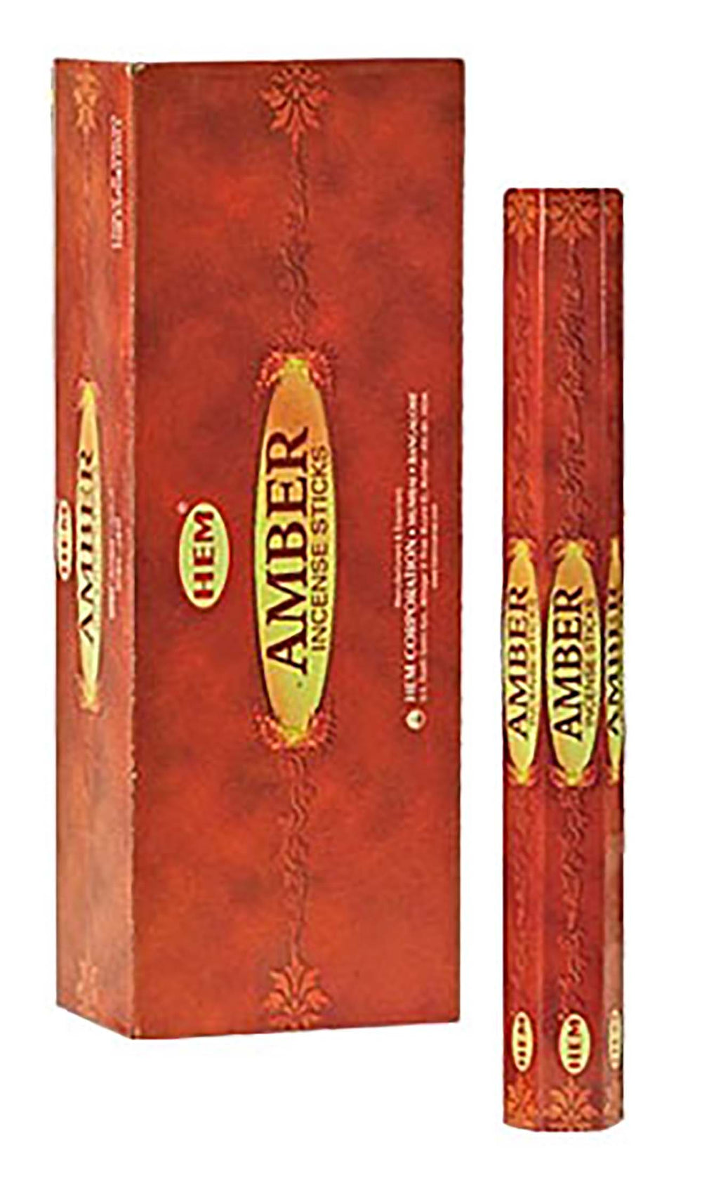 Amber Incense Stick Hexa