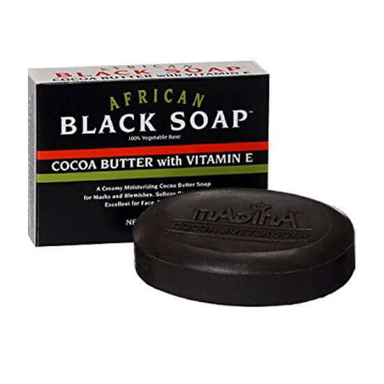 Buy best African Black Soap with Coca Butter and Vitamin E