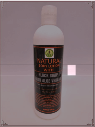 Buy Lotion- Black Soap with Aloe Vera