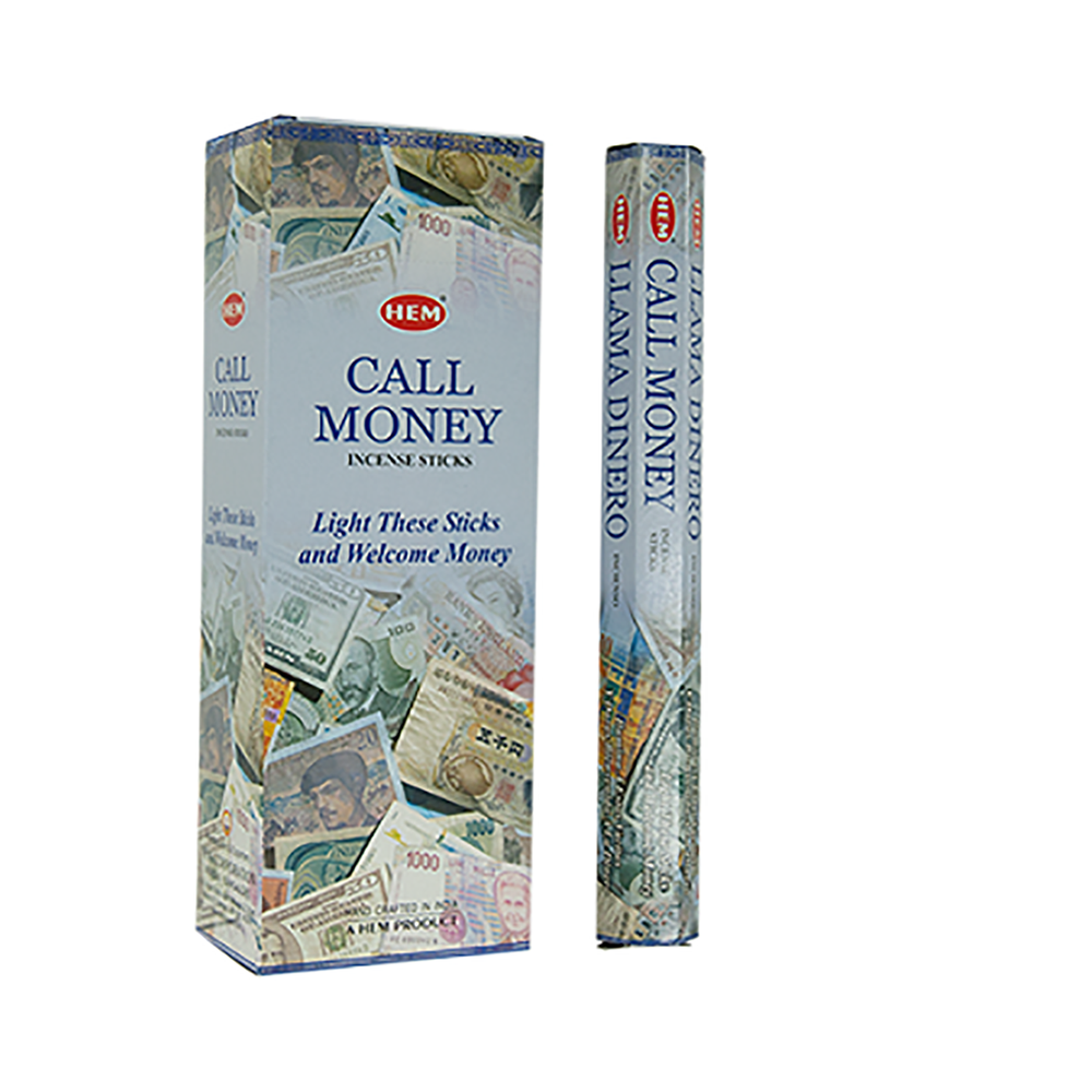 Hem Call Money Incense Stick Hexa