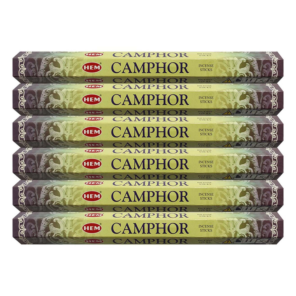Hem Camphore Incense Stick Hexa