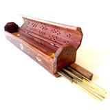 Wooden Coffin Incense holder