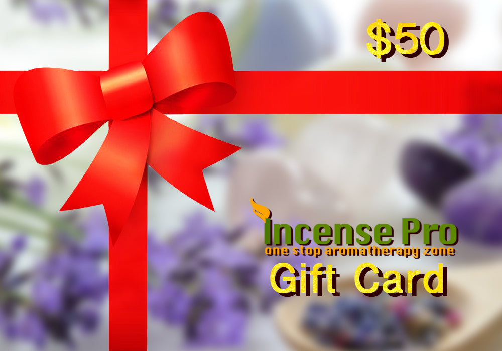 $50 Gift Incense Pro Card