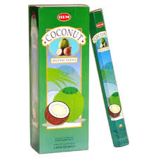 Buy Hem Coconut Incense Hexa