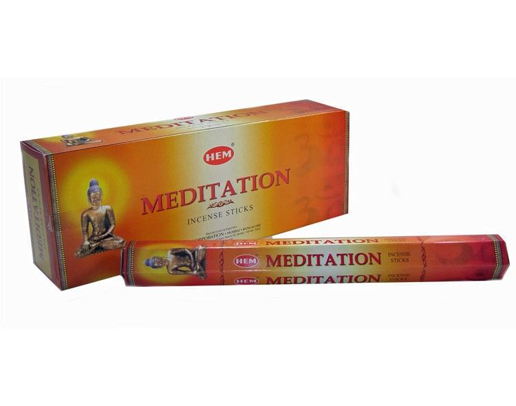 Hem Meditation Incense Hexa