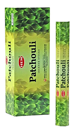 Buy Hem Patchuli Incense Sticks Hexa
