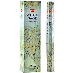 Buy Hem White Sage Incense Hexa