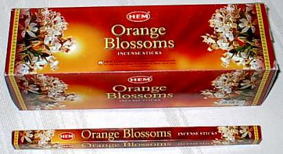 Buy Original Orange Blossoms Incense Stick