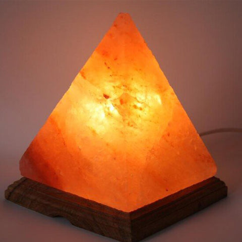 Real Himalayan Pyramid Salt Lamp