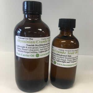 Abyssinian or Crambe Seed Carrier Oil