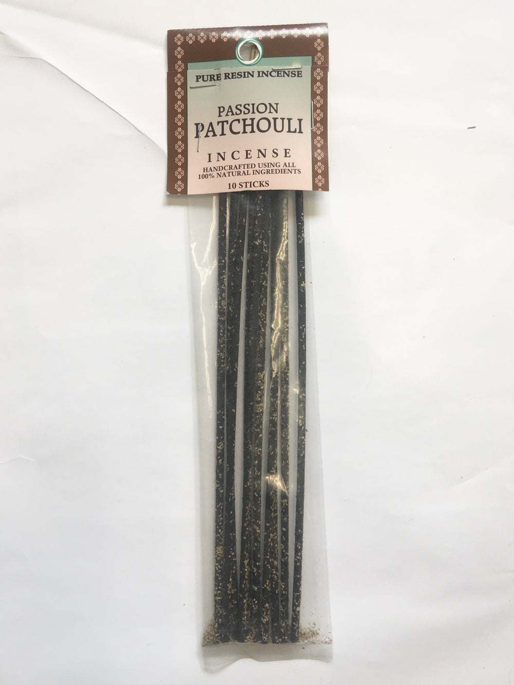 Passion Patchouli- Pure Resin Incense Stick