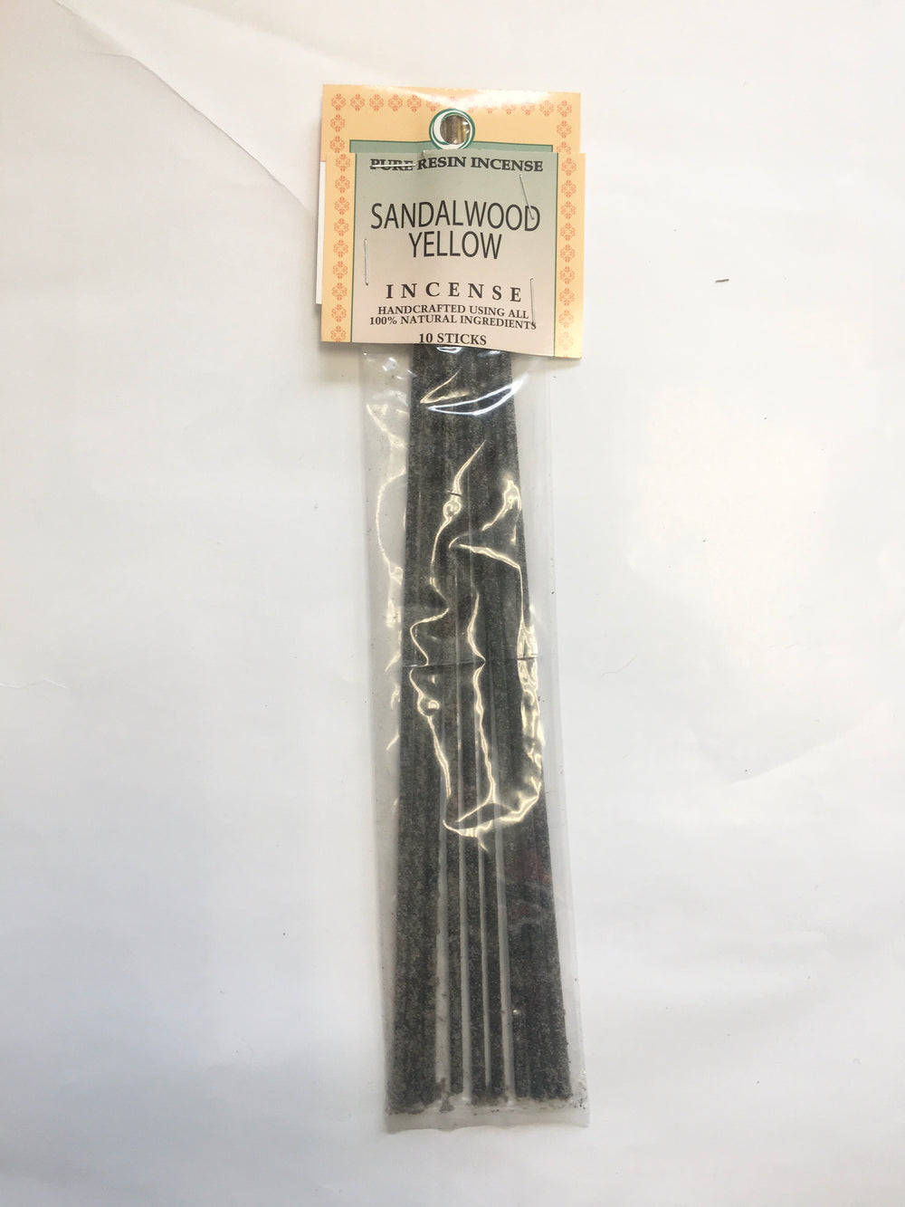 Yellow Sandalwood- Pure Resin Incense