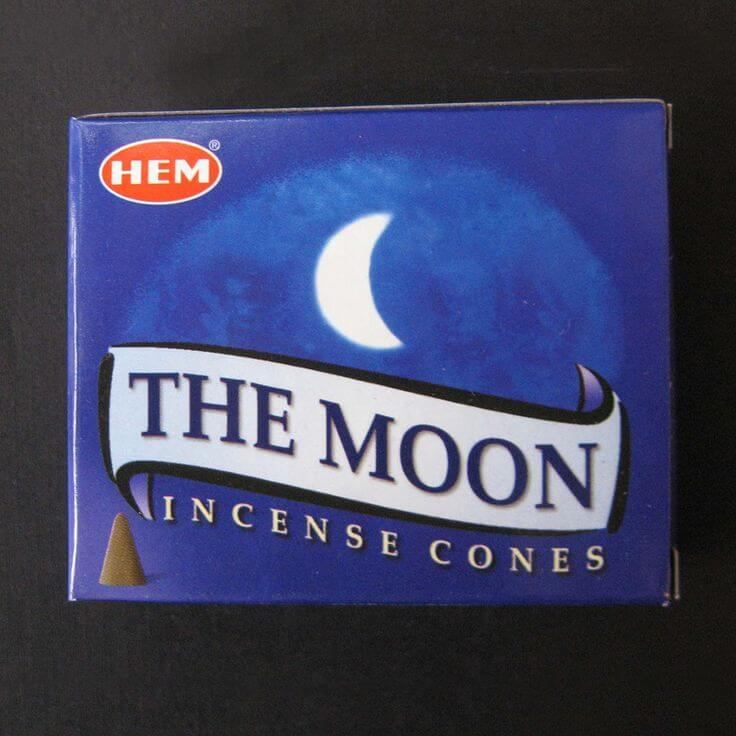 buy Moon incense cone