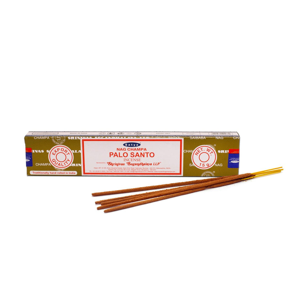 Satya- Nag Champa- PaloSanto Incense Sticks