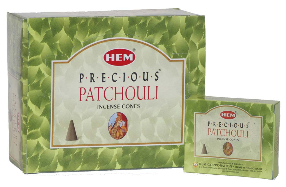 Patchouli Hem Incense Cone