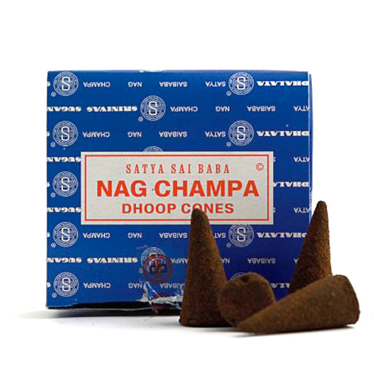 Buy Satya Nag champa dhoop incense cone