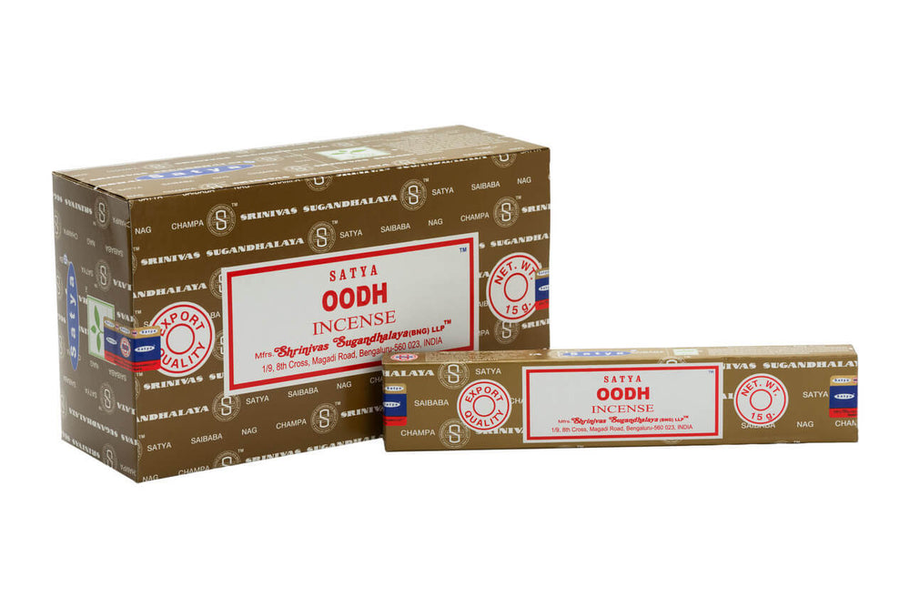 Buy Satya Nag Champa Oodh Incense Sticks