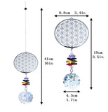 Buy Flower of Life Suncatchers
