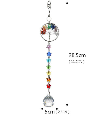 Tree of Flower Sun Catcher