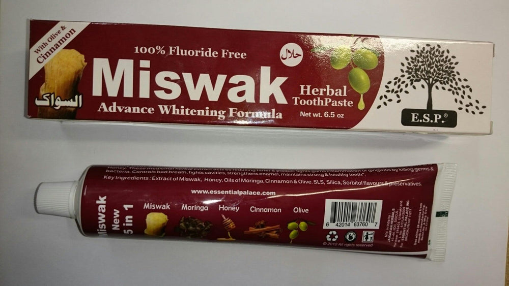 Buy Miswak Herbal Toothpaste