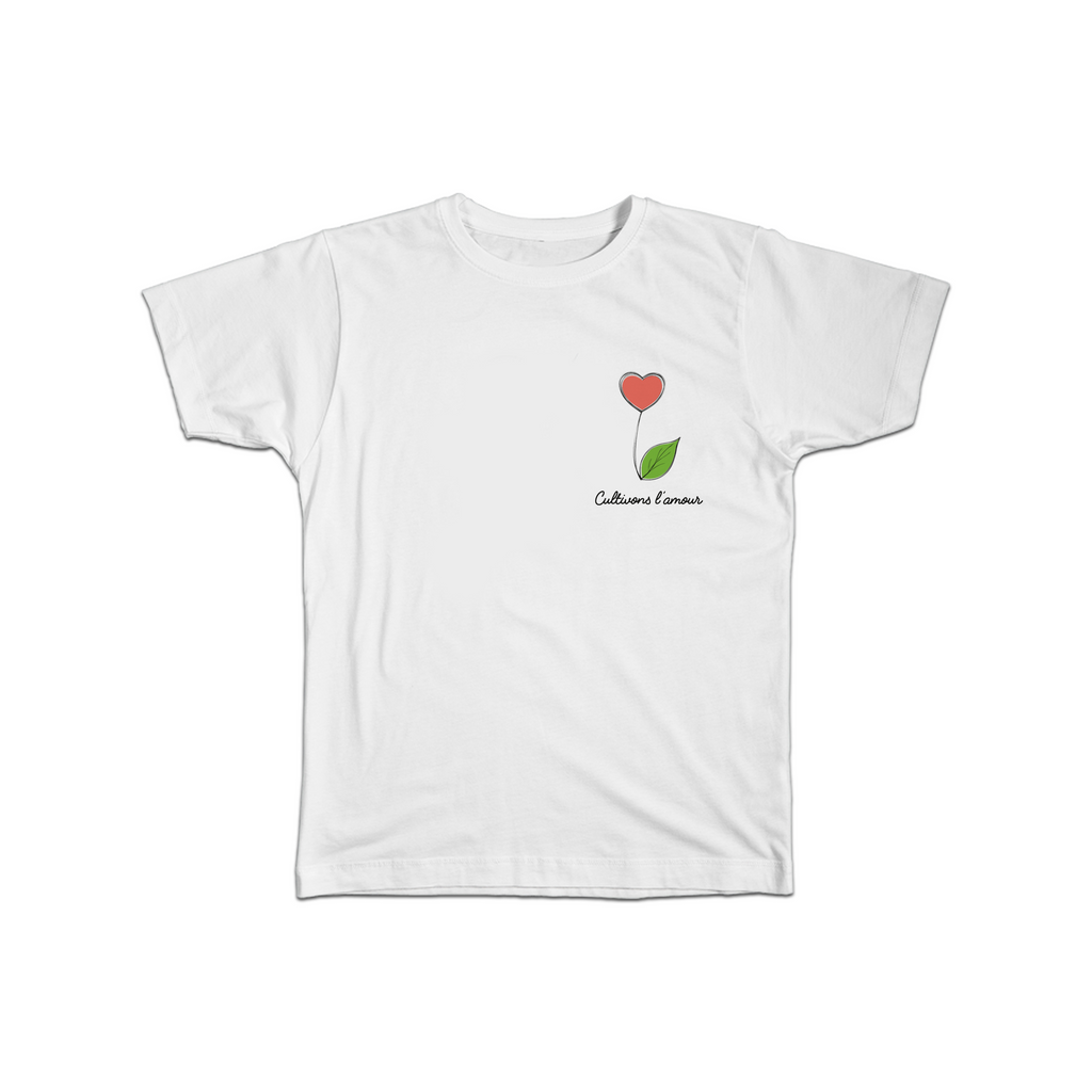 T-shirt cultivons l'amour