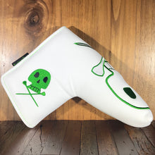 Load image into Gallery viewer, Black & White Skull Tees Putter Cover ***Limited Edition***